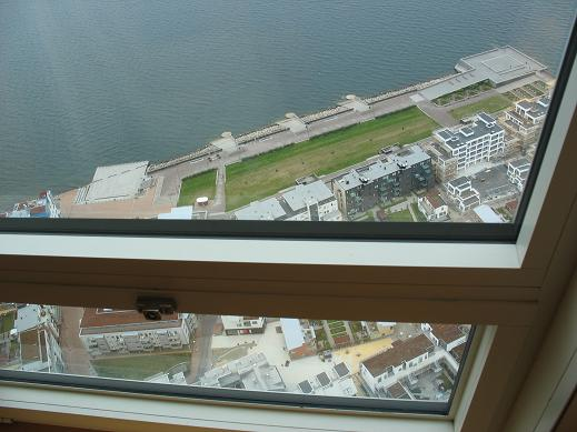 54th floor in Turning Torso