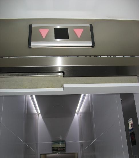 elevator turning torso
