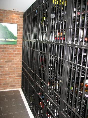 wine cellar in Turning Torso